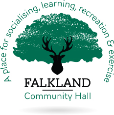 Falkland Community Hall – Fife Logo